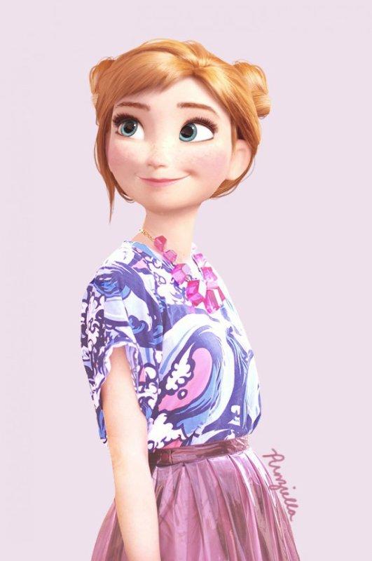 Comme quoi les personnages Disney peuvent être bien fringués !!! (1)