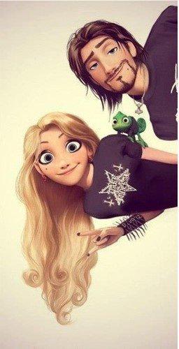 Comme quoi les personnages Disney peuvent être bien fringués !!! (2)