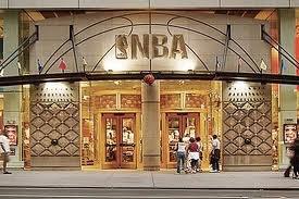 Voici NBA Store le magasin de basket à New York