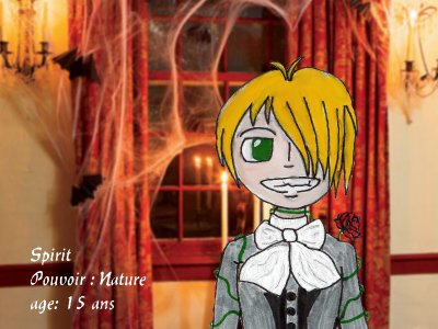 MagikBlue : Personnage