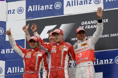 Résulats du Grand Prix de France