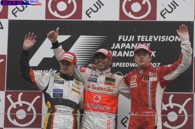 Résulats du Grand Prix du Japon