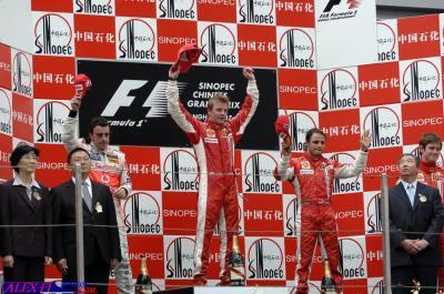 Résulats du Grand Prix de Chine