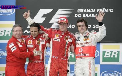Résulats du Grand Prix du Brésil