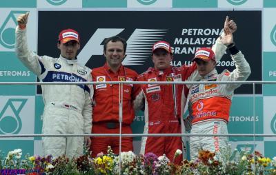 Résulats du 2° Grand Prix de Malaisie