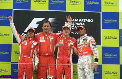 Résulats du 4° Grand Prix d'Espagne