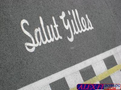 Hommage Gilles Villeneuve