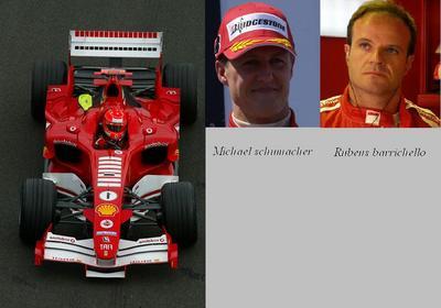 1. Ferrari F2005