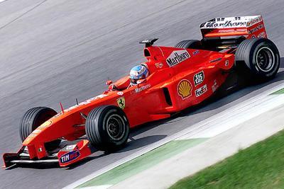 Mika Salo chez Ferrari
