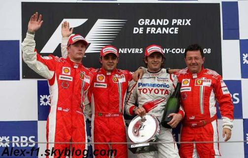 Résulats du 8° Grand Prix de France -->Hommage à Magny Cours ▀
