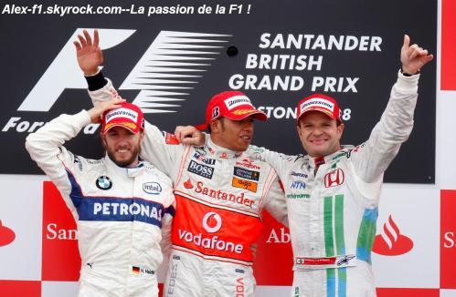 Résulats du 9° Grand Prix de Royaume-Uni