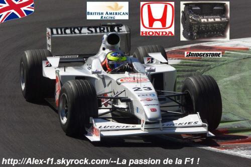 Lien de vote pour mon blog ▀   F1 de la semaine: Saison 2000Mes autres blogs: Alex-Sauber|Prost|Minardi
