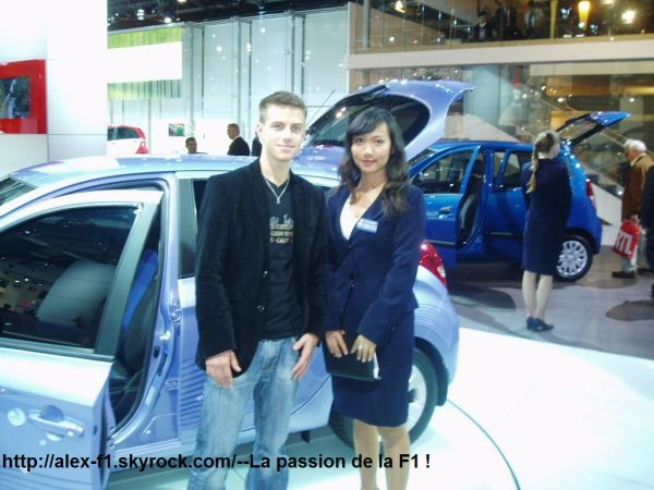 Salon de l'Automobile 2008 !