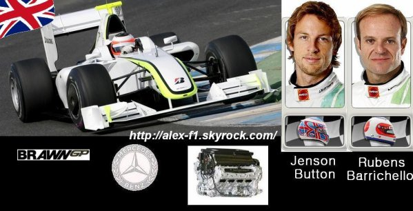 11] Brawn Mercedes Benz BG001