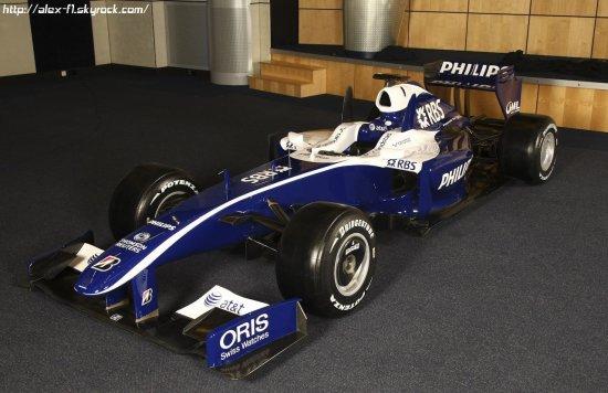 Les nouvelles couleurs de l'écurie britanique Williams