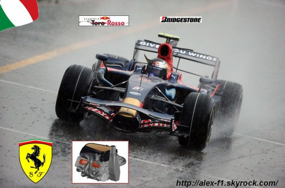 Formule 1 du mois: Toro Rosso STR03