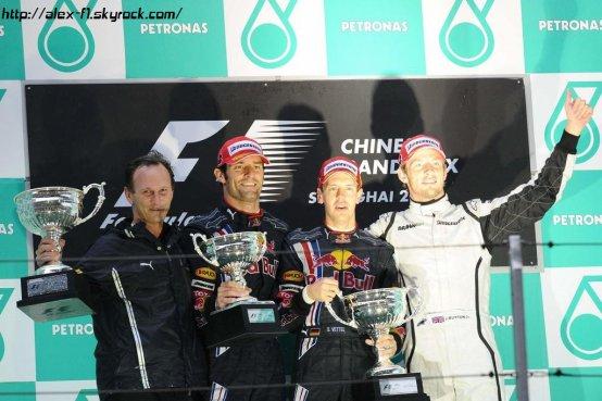 Chine: Résultats du 3° Grand Prix