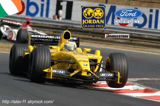F1 du mois: Jordan EJ13 de 2003