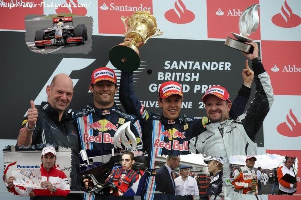 Royaume Uni: Résultats du 8° Grand Prix