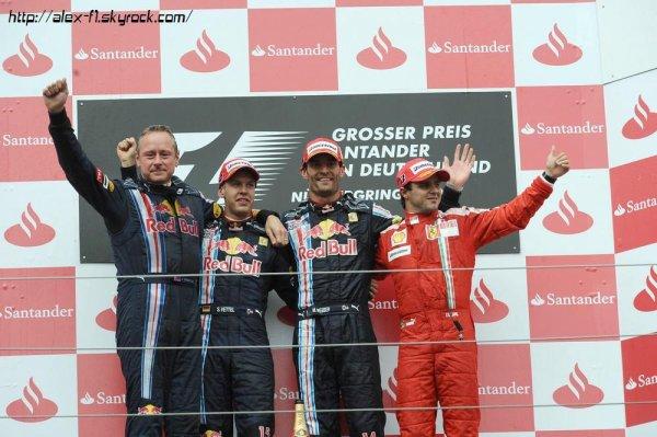 Allemagne: Résultats du 9° Grand Prix
