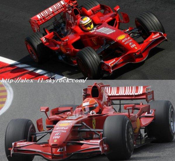 Michael Schumacher de retour sur piste pour sur pour une course lors du remplacement de Felipe Massa. C'est vraiment super de voir Schumi revenir de plus en coéquipier Kimi la confrontation sera agréable à voir. Bon oui Schumi a 40 ans et j'aurais aimer que Ferrari donne enfin une chance à Luca Badoer mais bon sinon niveau marqueting le retour du barron rouge est vraiment super.