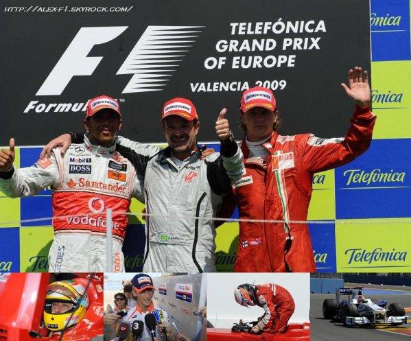 Europe: Résultats du 11° Grand Prix