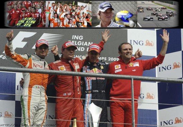 Belgique: Résultats du 12° Grand Prix