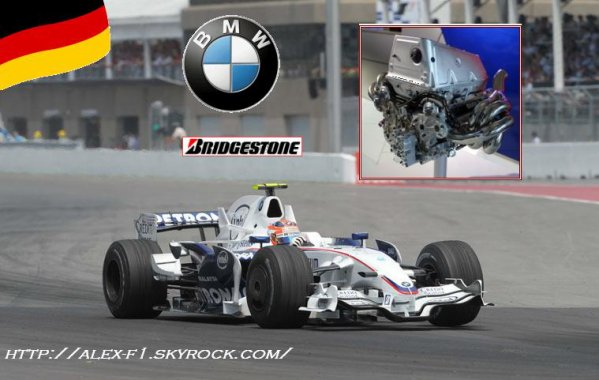 Descriptif monoplace: BMW Sauber F1.08 de 2008