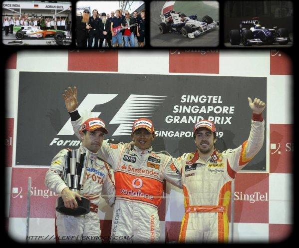 Singapour: Résultats du 14° Grand Prix