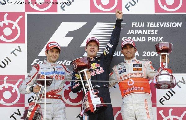 Japon: Résultats du 15° Grand Prix
