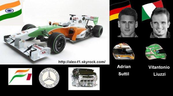 7] Force India VJM03 Mercedes Benez F0108X