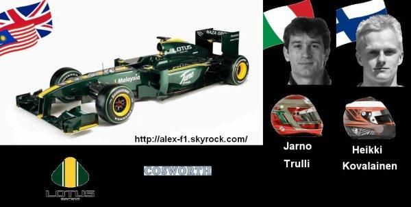 9] Lotus T127 Cosworth CA2010