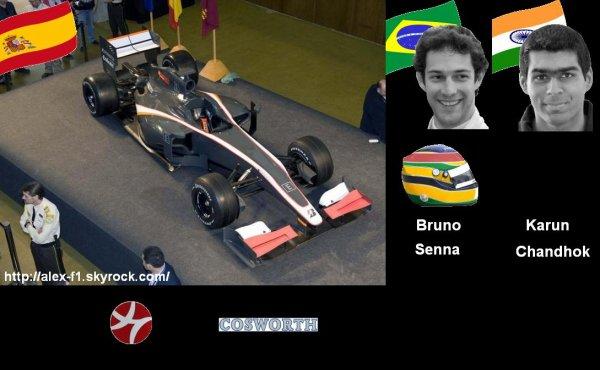 11] Hispania/HTR F110 Cosworth CA201