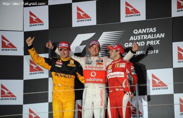 Résultats du 2° Grand Prix : Australie