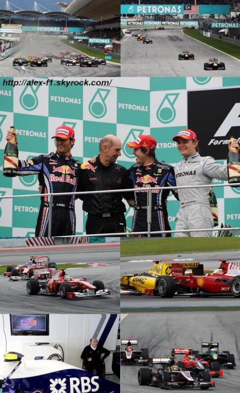 Résultats du 3° Grand Prix : Malaisie