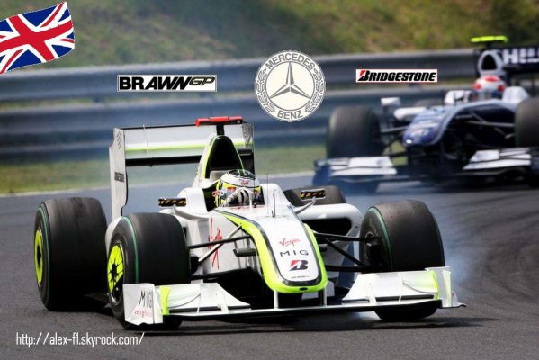 Descriptif monoplace: Brawn BGP001 de 2009