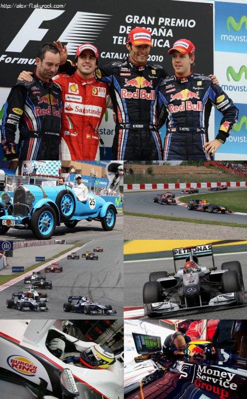 Résultats du 5° Grand Prix : Espagne