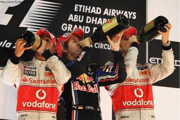 Résultats du 19° Grand Prix : Abu Dhabi