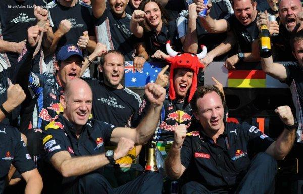 Sebastian Vettel et Red-Bull champion du monde !