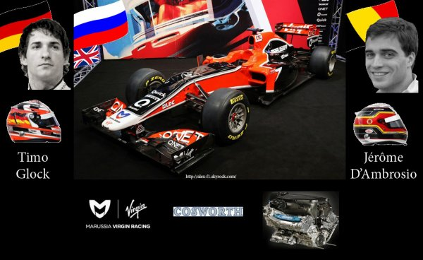 > 12] Marussia Virgin MVR-02 Cosworth CA2011