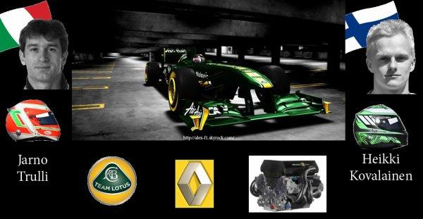 > 10]Team Lotus T128 Renault  RS27-2011