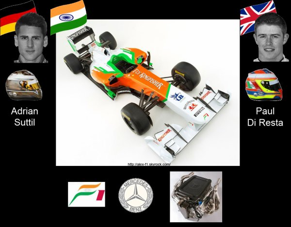 > 7] Force India VJM04 Mercedes Benez F0108X