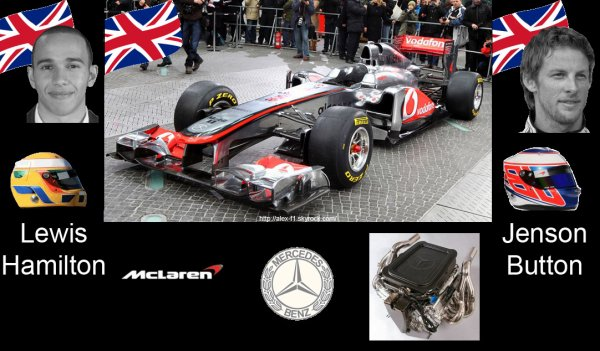 > 2] Mclaren MP4-26 Mercedes Benz F0108X
