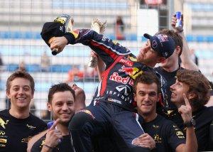 Sebastian Vettel et Red-Bull champion du monde 2011 !