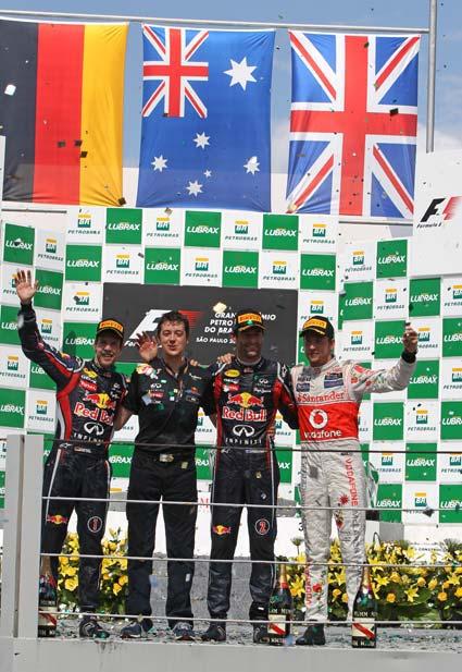 Brésil  Résultats du 19° Grand Prix