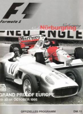 Affiche du Grand Prix d'Europe 1995