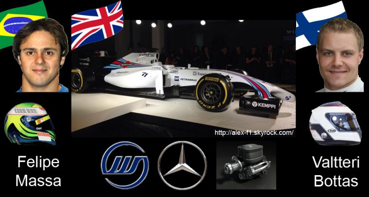 > 9] Williams FW36 Mercedes Benz