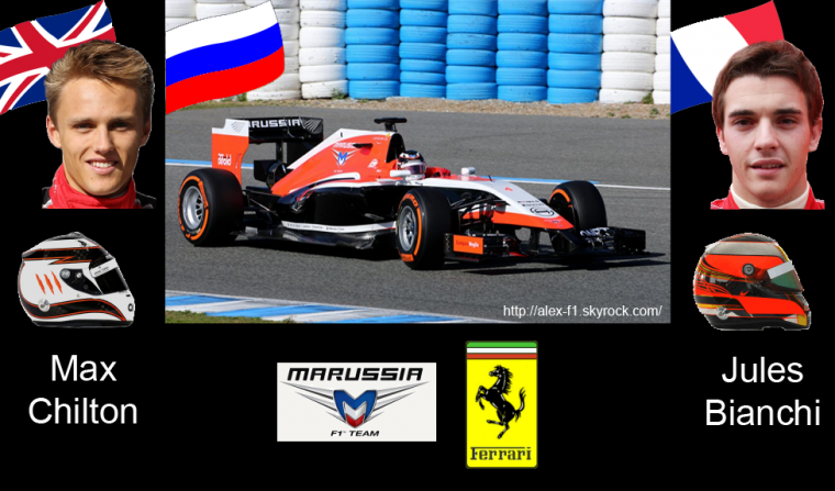 > 10] Marussia MR03 Ferrari