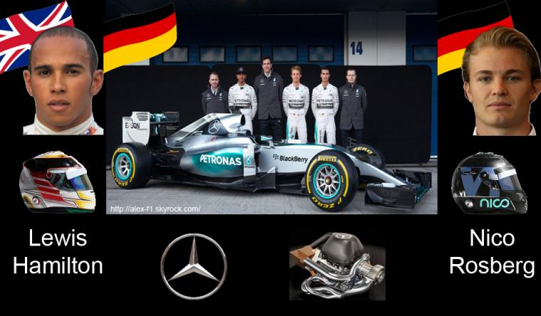 > 1] Mercedes AMG F1 W06- Toujours une écrasante domination ?