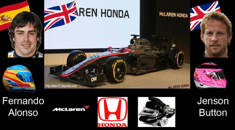 > 5] Mclaren MP4-30 Honda- Le retour de Honda permettra-il de renouer avec le passé victorieux de l'équipe ?